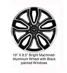 2014 ford mustang alminum wheels