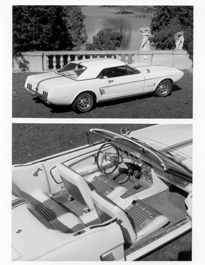 1963 mustang ll concept historic