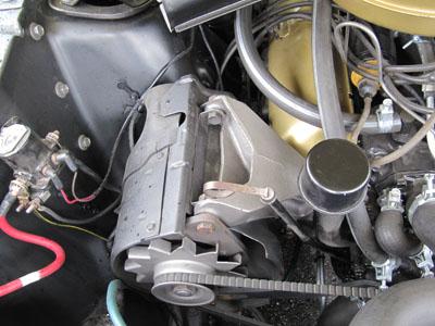 1964.5 mustang generator