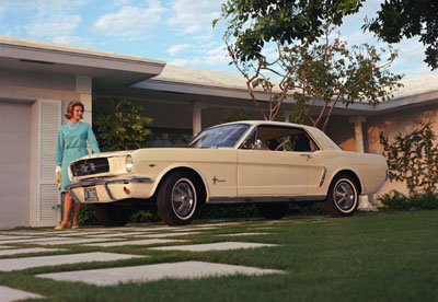 1964 ford mustang convertible white