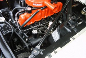 1965 ford mustang engine