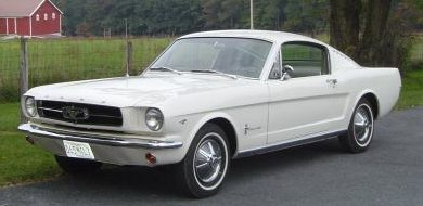 old Ford Mustang styling