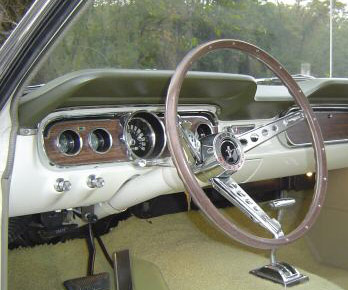 1965 Ford Mustang GT Instrument Cluster