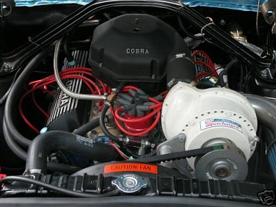1965 mustang paxton supercharger