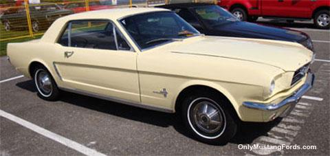 classic mustang 1965 phoenician yellow