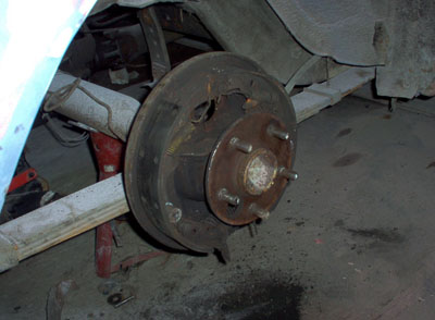 1965 mustang drum brakes