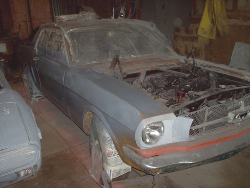 1965 Mustang Resttoration
