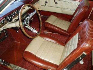 1965 mustang interior