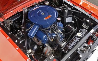 1966  mustang 289 V8 engine