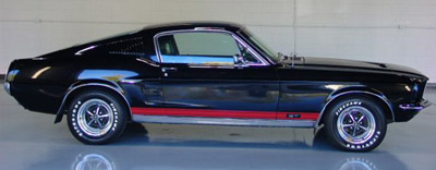 1967 mustang fastback 2+2