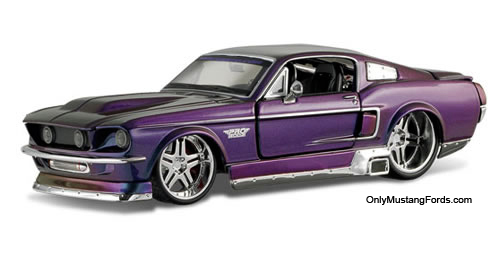 1/24 scale diecast mustang 1967