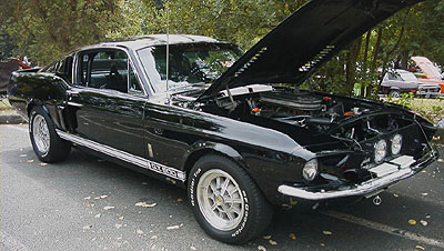 67 Shelby Mustang GT 500 images