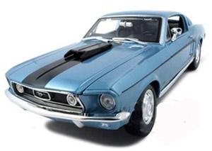 1968 cobrajet mustang diecast car