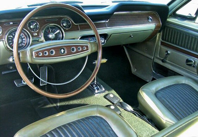 1968 ford mustang deluxe interior