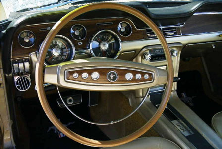 1968 mustang deluxe interior