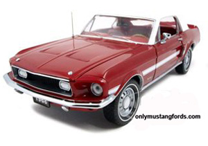 1968 Mustang High Country Special diecast car