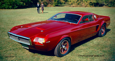 Ford mach 1 concept car