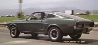 1968 Mustang bullitt and 2001 Bullitt limited edition