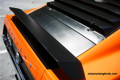 1969 mustang boss fastback window louvers
