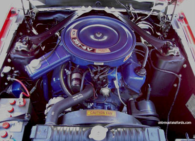 1970 Ford 351 V8 Mach 1 engine