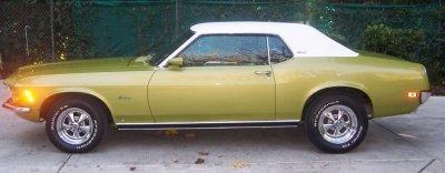 1970 mustang grande