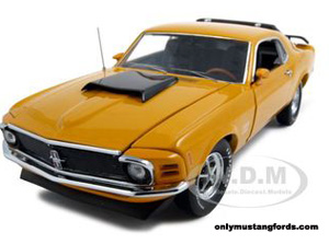 diecast 1970 Boss 429 yellow