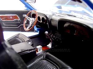diecast mustang boss deluxe interior 1970