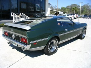 71 ford mustang rear bumper