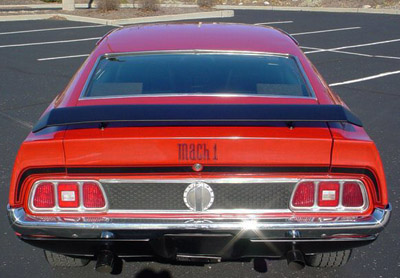 1971 Mustang Fastback Rear Extensions