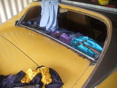 1972 Mustang grande window restoration