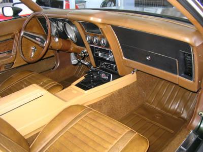1972 Mach 1 Interior
