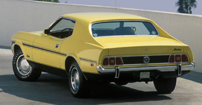 1973 mustang q code