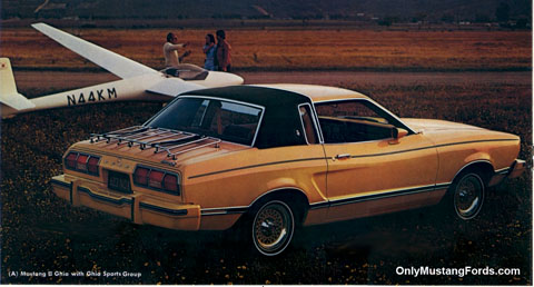 1977 ghia Mustang 11