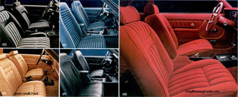 1979 interior styling foxbody  mustang