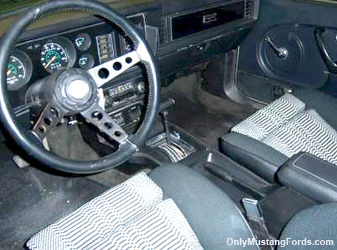 1979 indy pace car interior