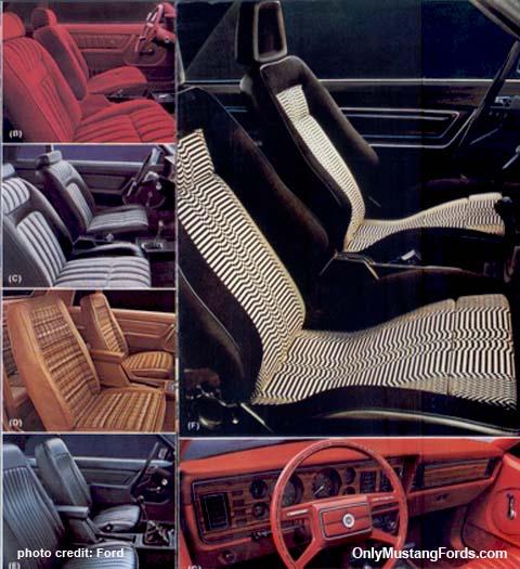 1980 foxbody mustang interiors