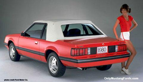1980 mustang convertible