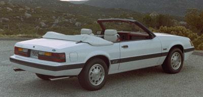 1985 mustang gt convertible