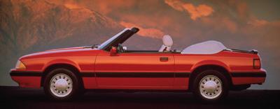 1989 mustang convertible