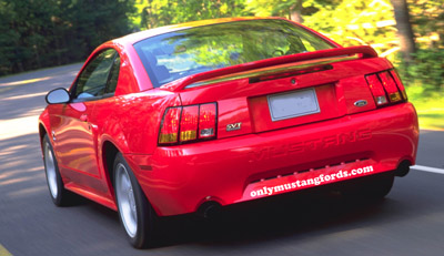 99 ford mustang svt cobra rear fascia