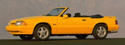 1993 mustang convertible
