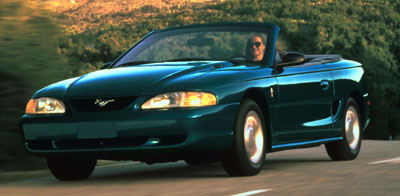 1995 mustang convertible