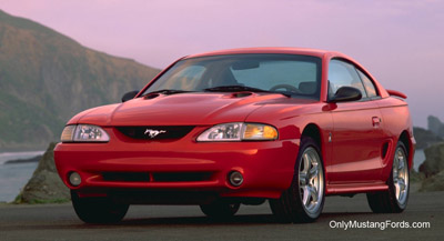 Laser Red 1998 Ford Mustang coupe