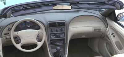 2000 Mustang Convertible Visor