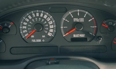 bullitt mustang 150 mph speedometer