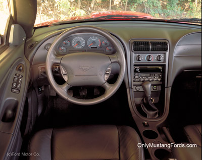 2002 ford mustang gt leather interior