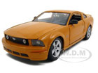 diecast 2006 mustang grabber orange