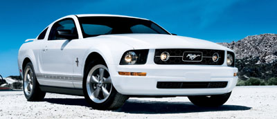 2006 mustang pony package