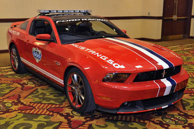 2011 mustang pace car
