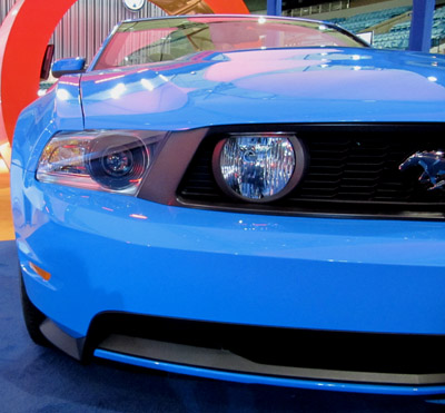 2011 mustang 5.0  headlights